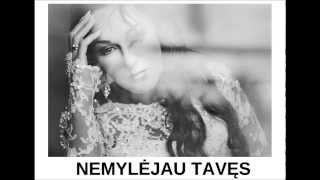 Džordana Butkutė - Nemylėjau tavęs (Oficialus audio)