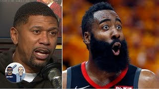 James Harden acts selfish when he is not the one initiating plays - Jalen Rose | Jalen & Jacoby