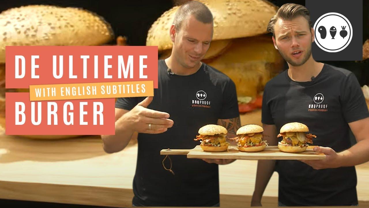 Hoe maak je de lekkerste hamburger op de BBQ?