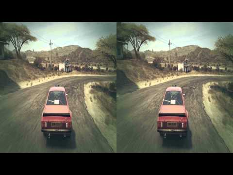 (3D & 4K) Dirt 3 3840x2160 Kenya - Ford Escort (Ultra HD) Oculus Rift