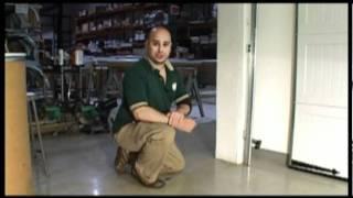 Garage Door Won't Close - Align Garage Door Safety Eyes