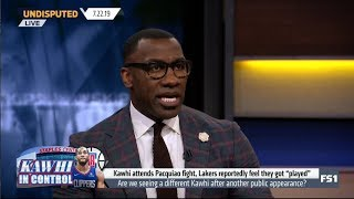 UNDISPUTED | Shannon DEBATE Are we seeing a different Kawhi after another public appearence?