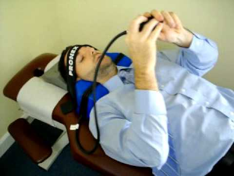 Pronex Neck Traction Neck Pain Relief Stretcher Youtube
