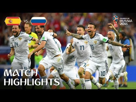 Spain v Russia - 1:1