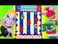 Save the Disney Princesses Disk Drop Game Trolls Movie Chef Ursula | Fizzy Toy Show