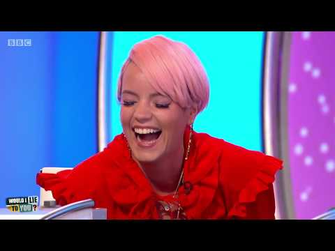 Did Lily Allen believe reindeer were fictional? - Would I Lie to You? [HD][CC-EN,ES,KO]
