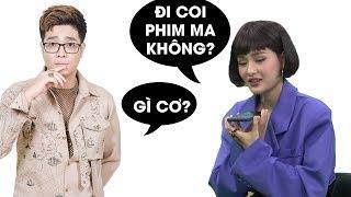 Hiền Hồ gọi Bùi Anh Tuấn cùng nấu ăn và xem phim ma, phản ứng của Bùi Anh Tuấn