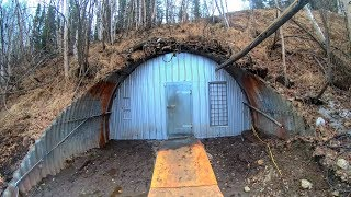 What's inside this Secret Frozen Tunnel?