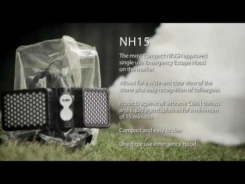 NH15 Escape Hood for CBRN Protection by Avon Protection