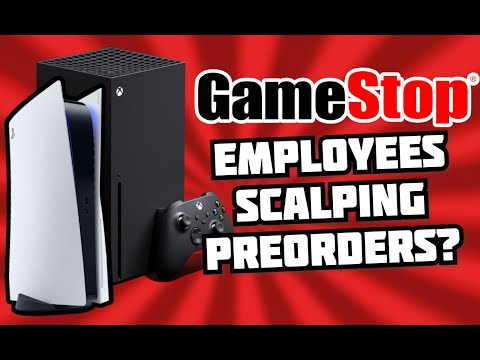 Gamestop Employees Scalping PS5 And Xbox Series X Pre-Orders?