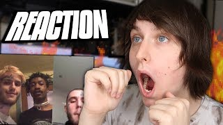 Lil Peep listens to Original Songs from COWYS2 REACTION