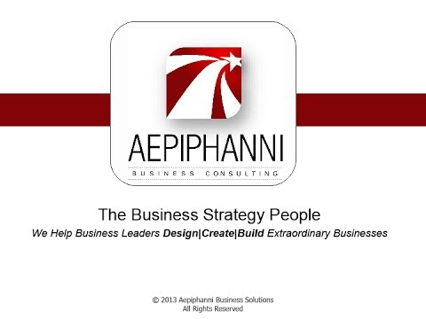 Why Strategy? - Aepiphanni | Building Extraordinary Businesses