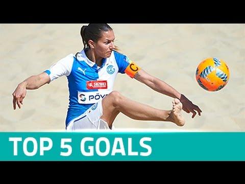 TOP 5 GOALS - EURO WINNERS CUP 2016 (WOMEN'S COMP.)