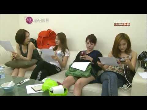 12.07.11 T-ara - Recording New Song