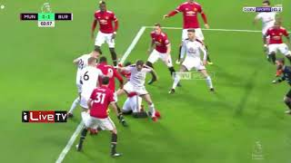 Manchester United VS burnley 2-2 Crazy match (highlights + Goals ) Boxing Day 2017