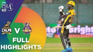 Full Highlights   Quetta Gladiators vs Peshawar Zalmi   Match 8   HBL PSL 6   MG2T