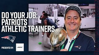 How Athletic Trainers Prepare an NFL Team for Gameday | Do Your Job
