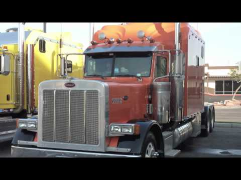 Peterbilt 379 Home on Wheels Caminhao nos Estados Unidos