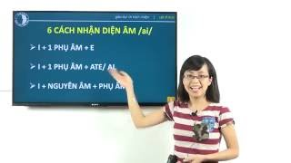 [Đánh Vần Tiếng Anh #3] 6 Cách Nhận Diện Nguyên Âm /ai/ Trong Tiếng Anh giao tiếp - Nguyễn Ngọc Nam