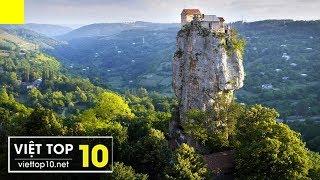 """🏰 Top 20 Công Trình """"Không Tưởng"""" Trên Vách Núi Hiểm Trở"""