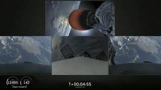 SpaceX ARABSAT-6A Falcon Heavy Launch and Triple Landing Highlights