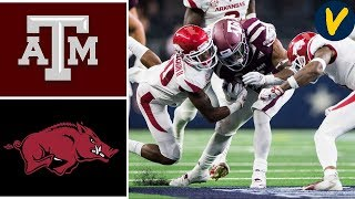 #23 Texas A&M vs Arkansas | Week 5 | College Football Highlights | 2019