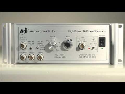 Bi-Phase High-Power Stimulator (701C) Quick Start Guide