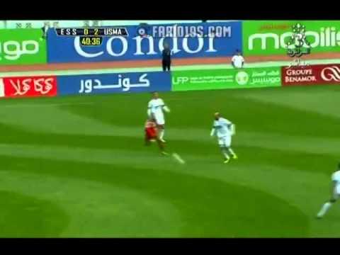 But de carolus lors de la super coupe d'Algérie