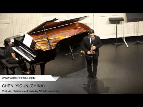 Dinant 2014 - CHEN, YIQUN (Prelude, Cadence et Finale by Alfred Desenclos)