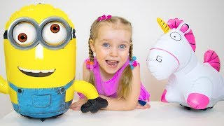 Gaby and Alex - Funny Stories about Toys