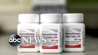 US President Donald Trump says he's taking hydroxycloroqui..