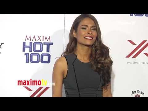 Daniella Alonso 2013 MAXIM HOT 100 Party Green Carpet ARRIVALS