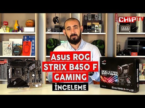 video Asus Rog Strix B450-F Gaming