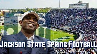 Jackson State Spring Football Hype