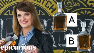 Whiskey Expert Guesses Cheap vs Expensive Whiskey | Price Points | Epicurious
