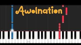 Awolnation - Sail (Piano Tutorial)