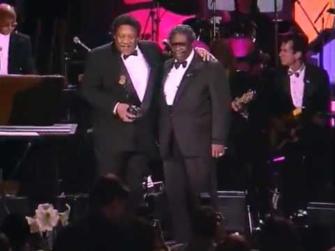 """B.B. King Inducts Bobby """"Blue"""" Bland into the Rock and Roll Hall of Fame"""