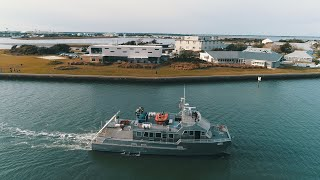 R/V Shearwater Sails Into Beaufort video