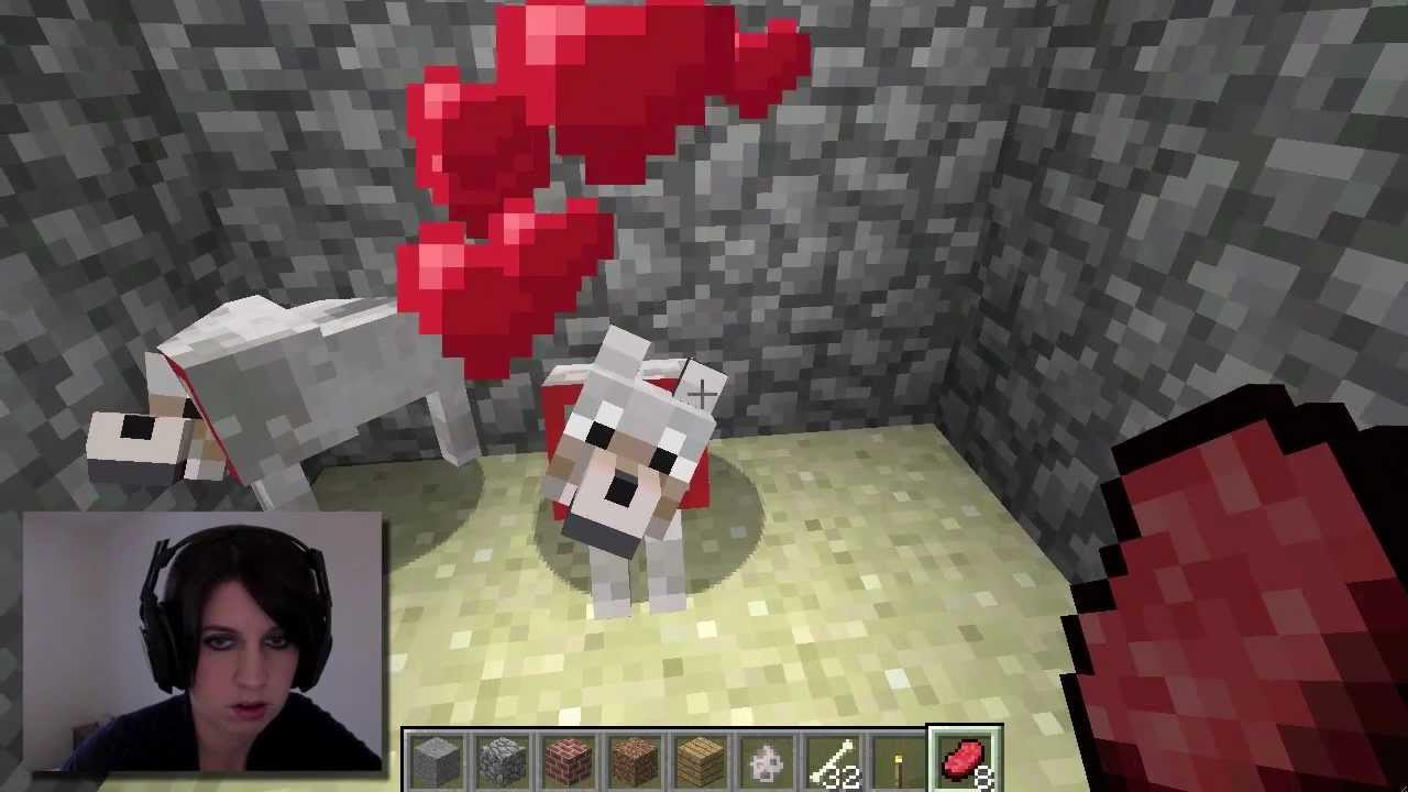 Baby Wolves Minecraft Update Youtube