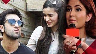 Katrina Kaif REACTS On Alia Bhatt Having CRUSH On Ranbir Kapoor | EXCLUSIVE
