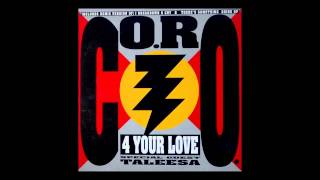 """Co.Ro. feat. Taleesa - 4 your love (Panoramix """"The Druid"""") [1993]"""
