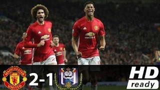 Manchester United Vs Anderlecht 2-1 All Goals & Extended Highlights -Europa League - 20/04/2017 Hd