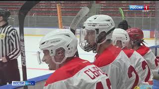 На льду хоккейной академии «Авангард» прошёл необычный матч