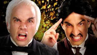 Nikola Tesla vs Thomas Edison. Epic Rap Battles of History