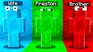 Rainbow SLIME Camo PRANK in Minecraft Hide & Seek!