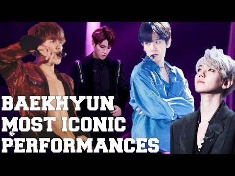 BYUN BAEKHYUN (변백현) TOP 10 MOST ICONIC (DANCE) LIVE PERFORMANCES