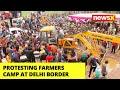 Protesting Farmers Camp At Delhi Border | NewsX Ground Report | NewsX