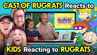 The Cast Of Rugrats Reacts To Kids React To Rugrats