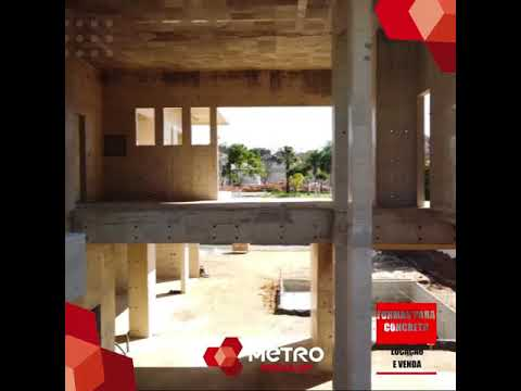 Construção de concreto