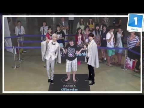 Genie AR SHOW with Super Junior : Episode 06 _ S.M.ART EXHIBITION in SEOUL COEX (10~19 AUG. 2012)